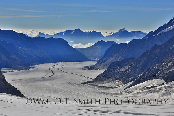 View of the Glacier from the Jungfraujoch