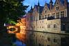 Brugge just after sunset