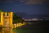 Sirmione on Lake Garda after sunset