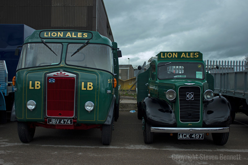 Albion and Commer Lorries