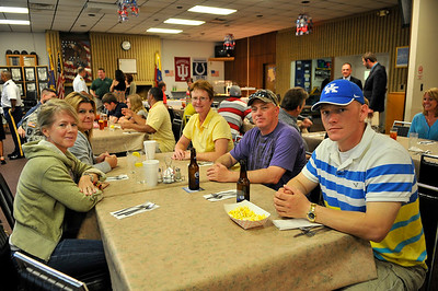 The American Legion Post 18 of Bloomington, Ind., hosted a dinner in honor of the Ride2Recovery Honor Ride Crane.