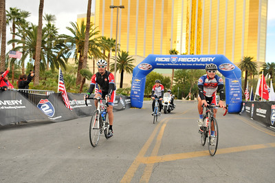 Participants ride various distances from 18-80 miles during the 2012 Ride2Recovery Honor Ride Las Vegas to raise funds and awareness for the mental and physical rehabilitation of our nation?