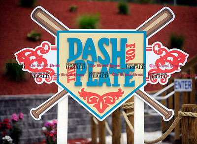8/1/2012 Mike Orazzi   Staff One of the signs changed at Lake Compounce during the shooting of a Little League World Series promotional video on Wednesday afternoon. *** for a Lluvia ***