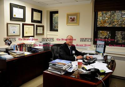 11/10/2011 Mike Orazzi | Staff Bristol Hospital President and CEO Kurt Barwis.