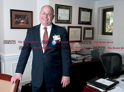 4/21/2011 Mike Orazzi Bristol Hospital President & Chief Executive Officer Kurt Barwis.  *** for a Jackie story***