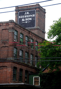 6/1/2012 Mike Orazzi | Staff The J.H. Sessions & Son building on Riverside Avenue in Bristol.  *** for a Steve story **