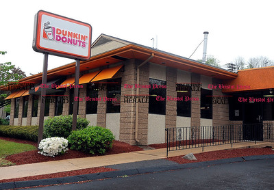 5/1/2012 Mike Orazzi | Staff The Dunkin' Donuts on North Main Street in Bristol. *** for a Steve story **