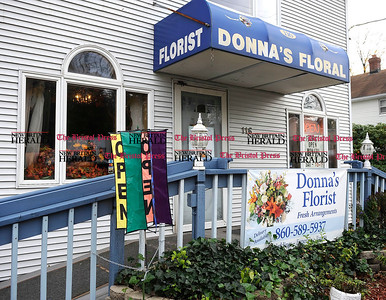 11/1/2012 Mike Orazzi | Staff Donna's Florist in Forestville.
