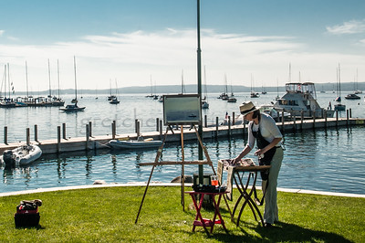 Plein Air Artist Harbor Springs, MI