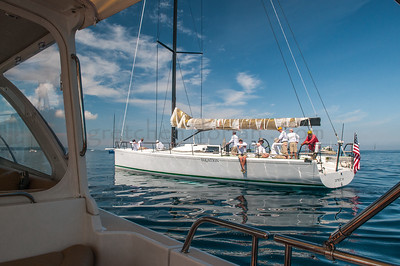 "Aboard Ed Palm's ""Bona Dea"" Equation | TP65 Little Traverse Bay, Lake Michigan"
