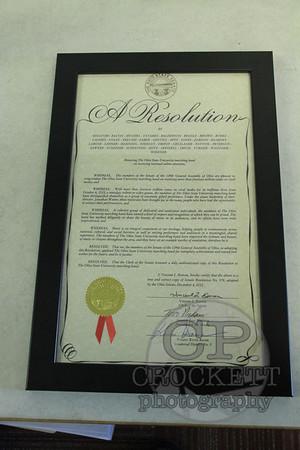 Legislature Honors