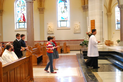 2012 Year of Faith Opening Mass Saint Vincent
