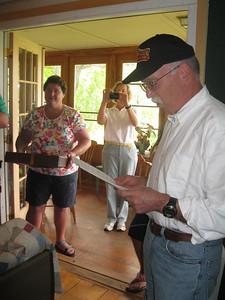 Nancy Robinson, Polly Timkin and John Timkin