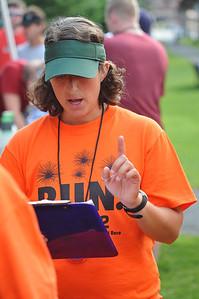 Heather Rubenstein, race co-ordinator