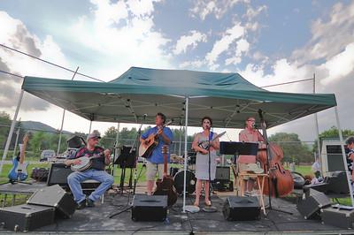 The bluegrass band