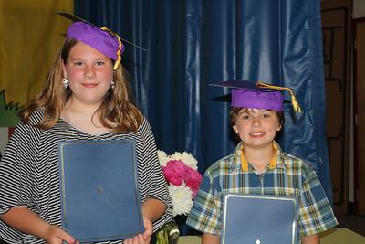 BVS graduation_Emma and Ethan