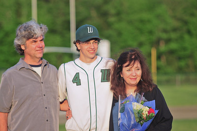 Bridger Keleher (canter) with his mom & dad