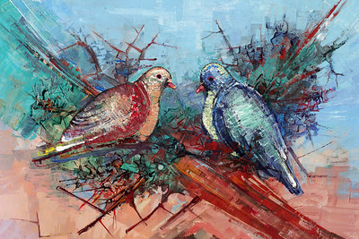 IMG_3313 Pigeon Pair by Michel Valestin