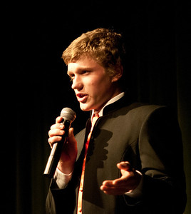 Mr. WUHS 2012 Woodstock Union High School Yoh Auditorium Woodstock VT March 16, 2012 Copyright ©2012 Nancy Nutile-McMenemy www.photosbynanci.com For The Vermont Standard: http://www.thevermontstandard.com/ Image Galleries: http://thevermontstandard.smugmug.com/