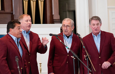 Our Town Barbershop Quartet Sponsored by Sustainable Woodstock Unitarian Church Woodstock VT February 25, 2012 Copyright ©2012 Nancy Nutile-McMenemy www.photosbynanci.com For The Vermont Standard: http://www.thevermontstandard.com/ Image Galleries: http://thevermontstandard.smugmug.com/