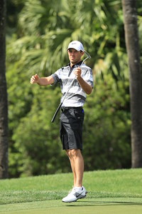 WEST PALM BEACH, FL - MARCH 12:  Charl Schwartzel of South Africa during the Els for Autism Pro-am at The PGA National Golf Club on March 12, 2012 in West Palm Beach, Florida.  (Photo by David Cannon/Getty Images) *** Local Caption *** Charl Schwartzel