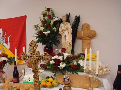 2012 Mar St Joseph Altar