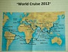 000 World Cruise Map