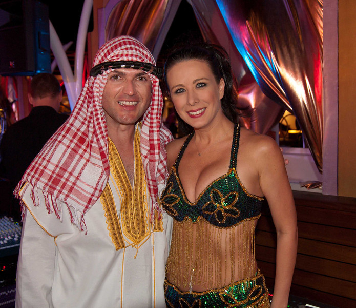 063 Cruise Director John and Assistant Heather