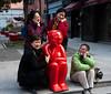 055 Tourist having fun