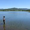 Fishing at Agate Lake
