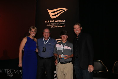during the Els for Autism (E4A) finals at Rio Secco Golf Club on October 20, 2012 in Las Vegas, Nevada