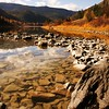 Rocks in the Kootenai River