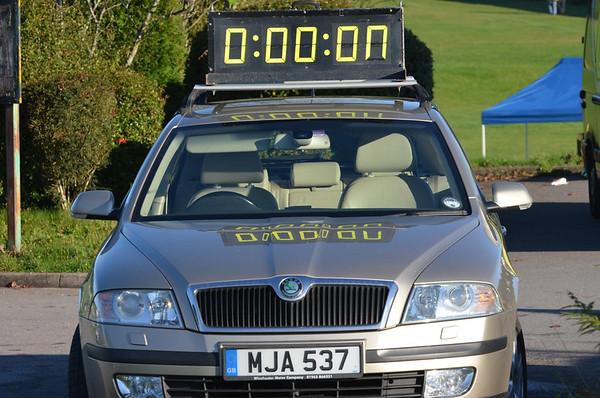 Solent Half Marathon - At the start