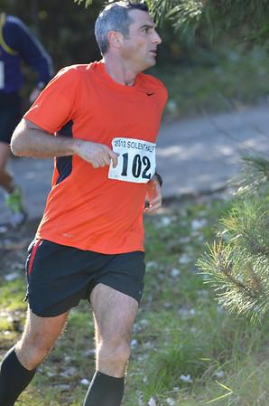 Solent Half Marathon - Coming home
