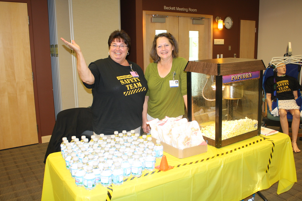 The popcorn ladies...everyone's favorite station!