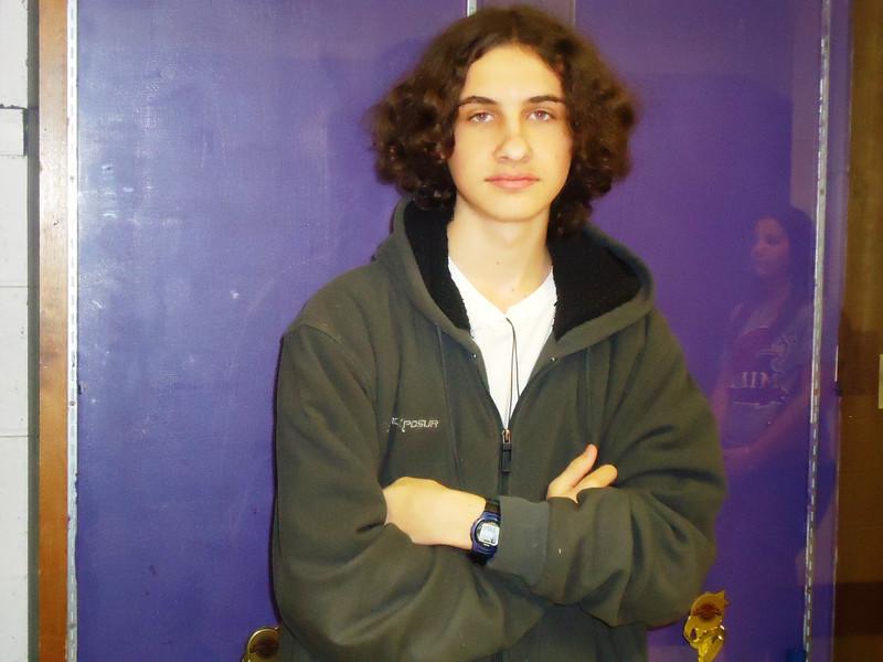 Sophomore Joe Lencoski