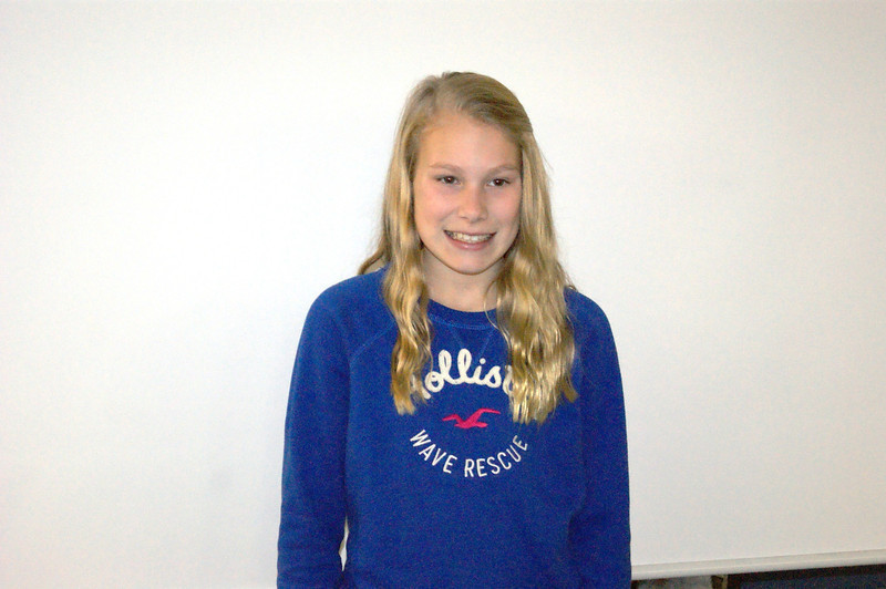 Seventh Grader: McKenna Tucek