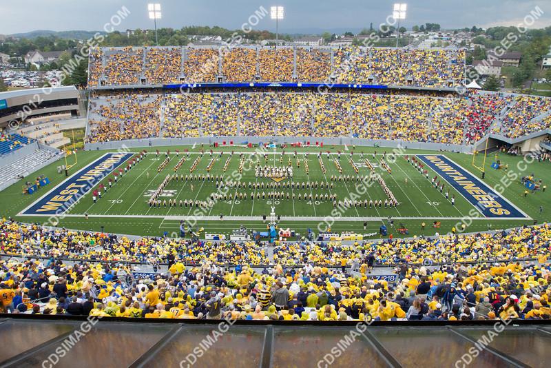 West Virginia University vs University of Maryland - September 22, 2012