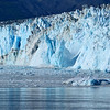 Hubbard Glacier calving sequence #3.  Keep in mind that the seracs that are falling are approximately 250 feet tall.