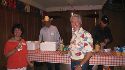 Bill Parks serving Tom & Sharon Riley