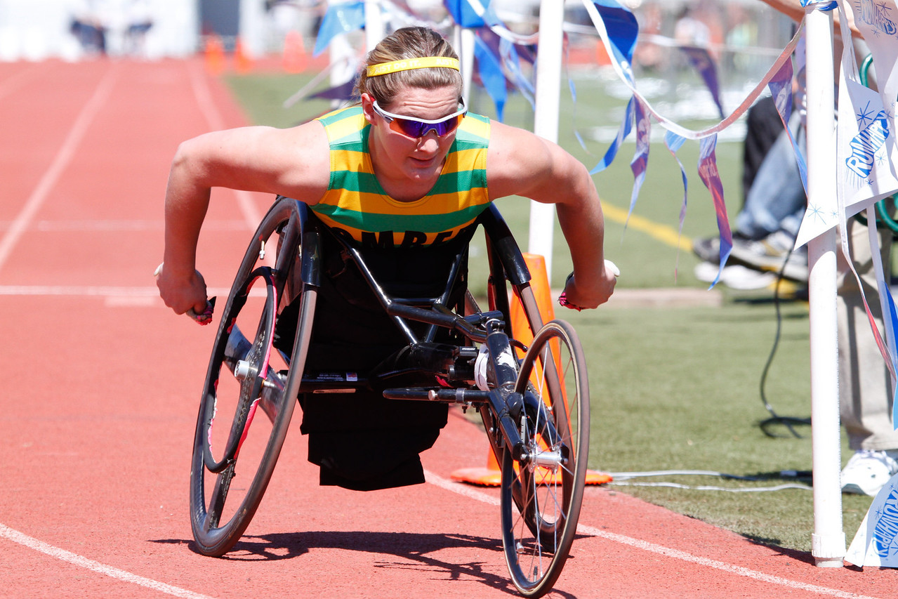 Wheelchair 800m