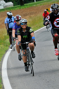 Participants ride 63 miles from Fredericksburg to Richmond, Va., during the 2012 Ride2Recovery Memorial Challenge.