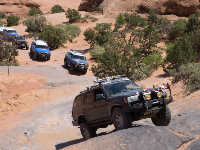 Cruse Moab - Hells Revenge<br /> Tip Over Challange