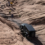 Cruse Moab - Hells Revenge Jeep in Hells Gate