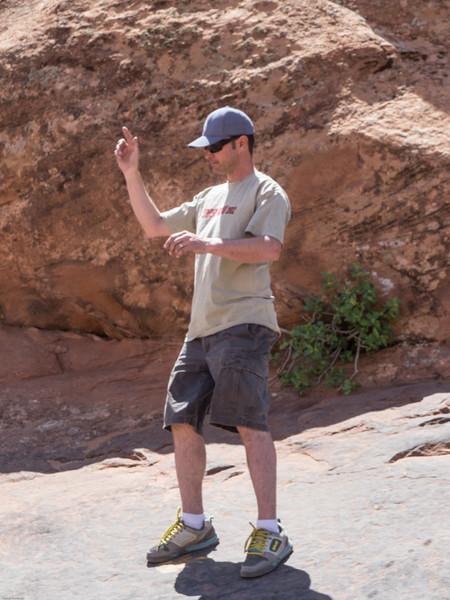Cruse Moab - Hells Revenge<br /> Spotting Tip Over Challange