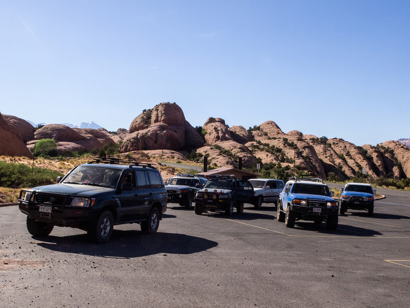 Cruse Moab - Hells Revenge<br /> Wating to hit the trail