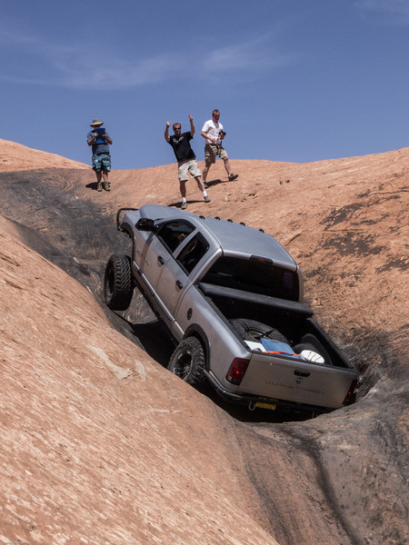 Cruse Moab - Hells Revenge<br /> Power Wagon in the Escalator