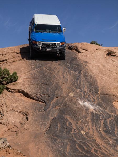 Cruse Moab - Hells Revenge<br /> Sandstone traction