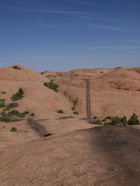 Cruse Moab - Hells Revenge<br /> The trail