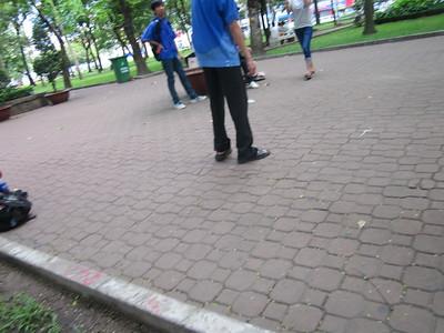November 22 - Park Students Kick game